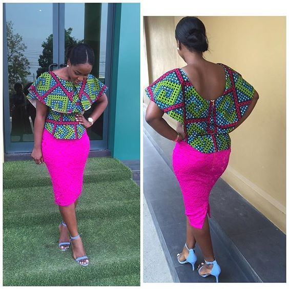 Top Ten Trendy Ankara Styles for Ladies Dabonke