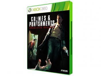 Crimes and Punishment Sherlock Holmes - para Xbox 360 - Maximum Games