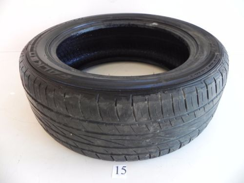 FALIKEN ZIEX 100V 1 USED WHEEL TIRE RUBBER 235/55/18 ZE612 TREAD 4MM DEPTH #15