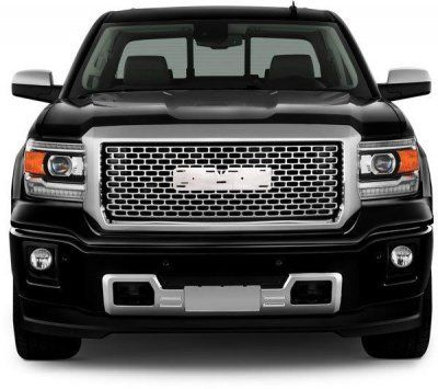GMC Sierra 1500 2014-2015 Chrome Front Grill and Lower Bumper Grille