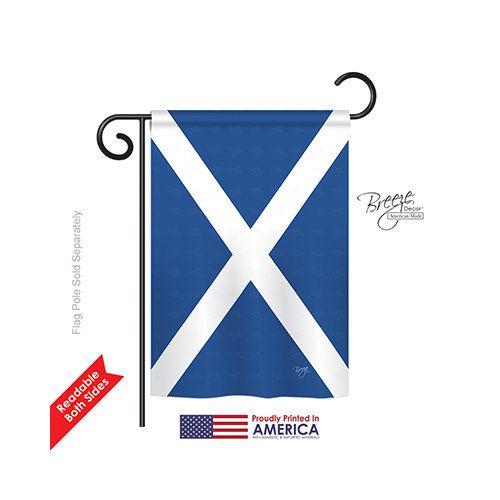 St. Andrews Cross 2-Sided Vertical Flag