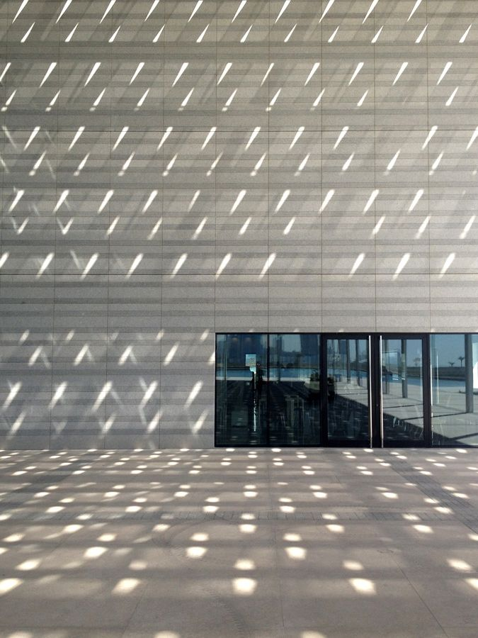 National Theatre of Bahrain by AS Architecture-Studio, light, windows, entrance