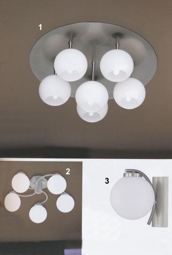 Svietidlá.com - Wofi - Alegra + Globe - Moderné svietidlá - svetlá, osvetlenie, lampy, žiarovky, lustre, LED