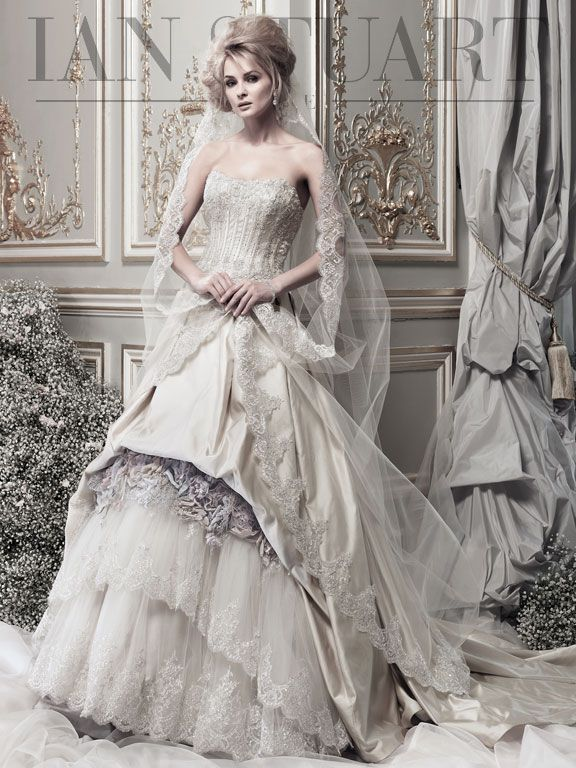 elegant lady luke collections of ian stuart bridal dresses