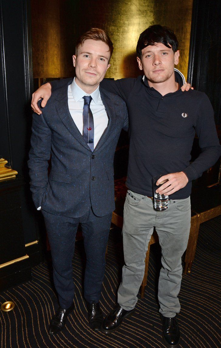 Pin for Later: You'll Definitely Want Money Monster's Jack O'Connell to Be Your New Best Mate With Fellow Skins Actor Joe Dempsie at the EE and Esquire Pre-BAFTAs Party