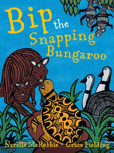 Bungaroo is the Australian Yidin peoples' word for turtle. Bip the snapping Bungaroo is renowned for his very loud SNAP! When Bip awakes one day to find he can't snap any more, the adventure begins to unravel the mystery behind Bip's missing snap. This is a colourful book for four's and five's.