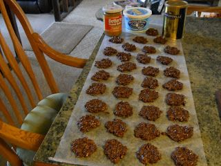 SKINNY NO-BAKE COOKIES....Only 1 Weight Watchers point per cookie ...