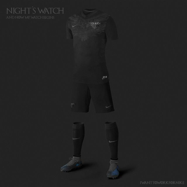 Uniformes das casas de Game of Thrones - Patrulha da Noite