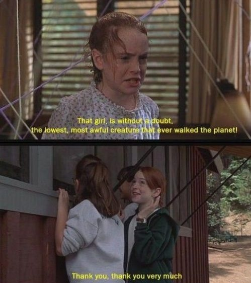 The Parent Trap I used to watch this show every single day with Evelyn when i was a kid!!! I LOVE IT