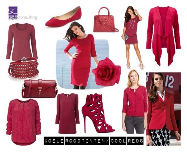 """""""Koele roodinten. Cool reds."""" by roorda on Polyvore featuring mode, Hahn, Sif Jakobs Jewellery, P.A.R.O.S.H., Vera Bradley, Accessorize, belle by Sigerson Morrison en Giuseppe Zanotti"""
