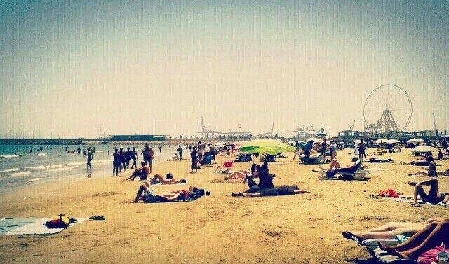 Playa la Malvarrosa