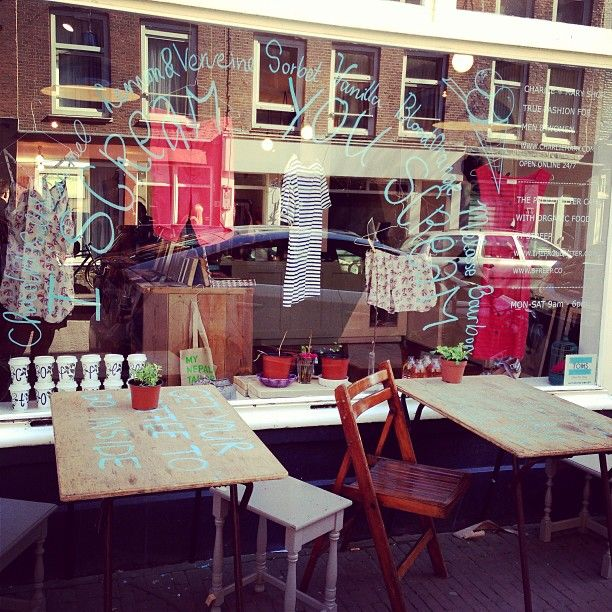 charlie + mary - sustainable fashion and coffee