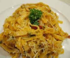 Recipe Creamy sundried tomato and chicken fettucine by fizzy-pink-lemonade - Recipe of category Pasta & rice dishes