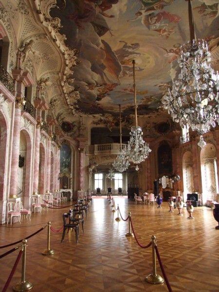 rokoko -Netzwerke-Fotoshooting auf Schloss Bückeburg