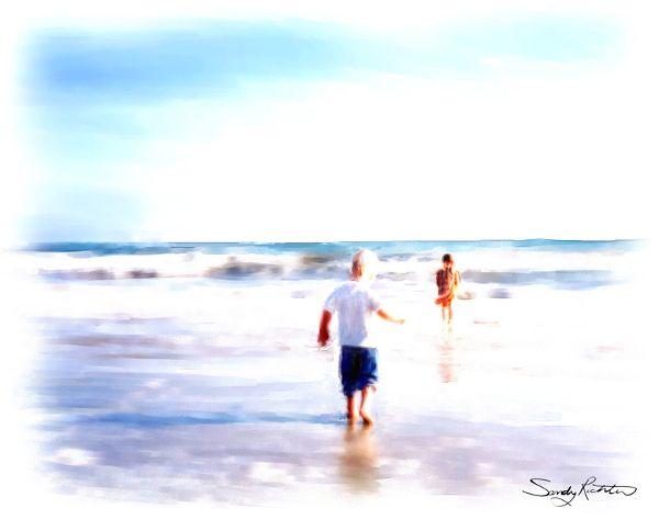 'Seaside Memories' by Sandy Richter