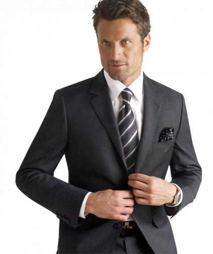 Max Davoli Wool Suit Modern Fit   Megasuits.com ...