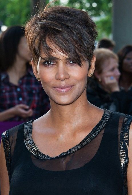 Halle Berry Short Hairstyles - Layered Razor Cut for 2014