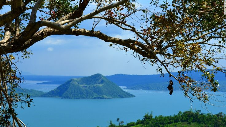Located near Manila, the Philippines' Taal Volcano provides a death-defying experience -- and a scenic place to golf.
