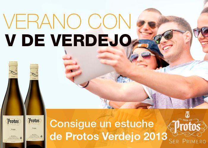 Sorteo de 10 estuches de 2 botellas de vino Protos Verdejo