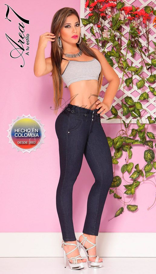 Area 7 Jeans | Jean levanta cola | Ropa Colombiana | In those ...