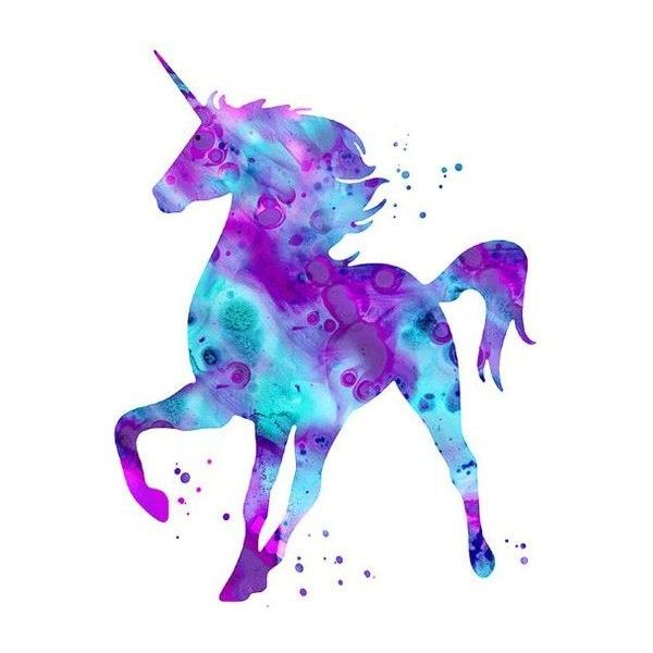Unicorn print, pink purple aqua unicorn watercolor, unicorn art,... ❤ liked on Polyvore featuring backgrounds, aqua home decor, unicorn wall art, pink wall art, water color illustration and watercolor illustration
