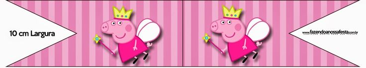Peppa Pig Fairy: Free Party Printables, Images and Backgrounds.