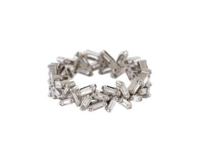 Suzanne Kalan - Baguette Diamond Baguette Band in Rings Bands at TWISTonline
