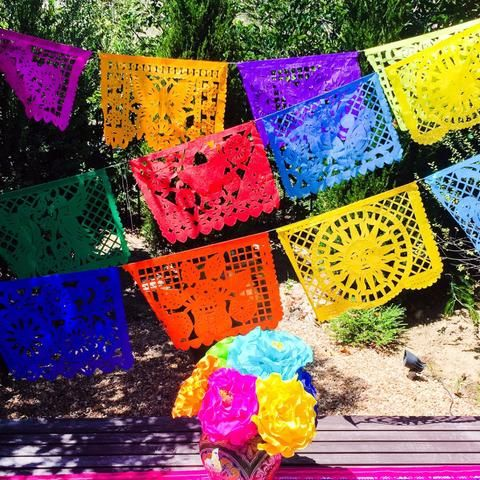 Papel Picado Mexican Banner. Large - MesaChic - 4