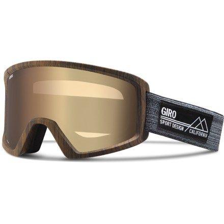 Giro Men's Blok Snow Goggles - Amber Gold
