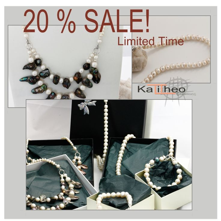 Pop over to Kalitheo Creations on Facebook and grab your self a bargain... Pearls every girl loves Pearls. #pearls #trending #kalitheo https://www.facebook.com/KalitheoCreations