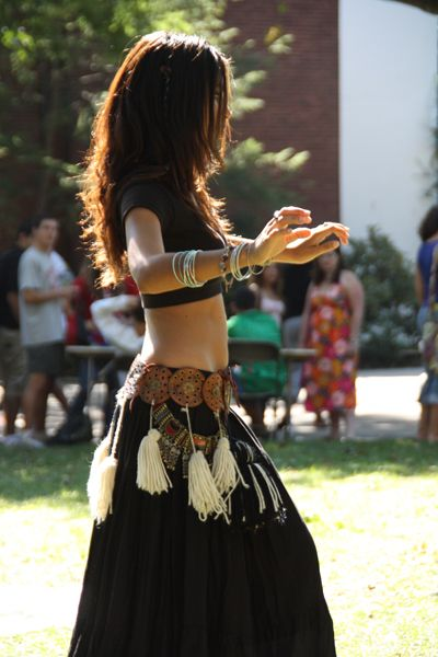 Middle Eastern Belly Dance Troupe