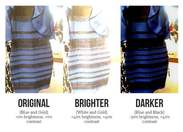 Pero ¿por qué unos perciben el vestido blanco-dorado y otros azul-negro?