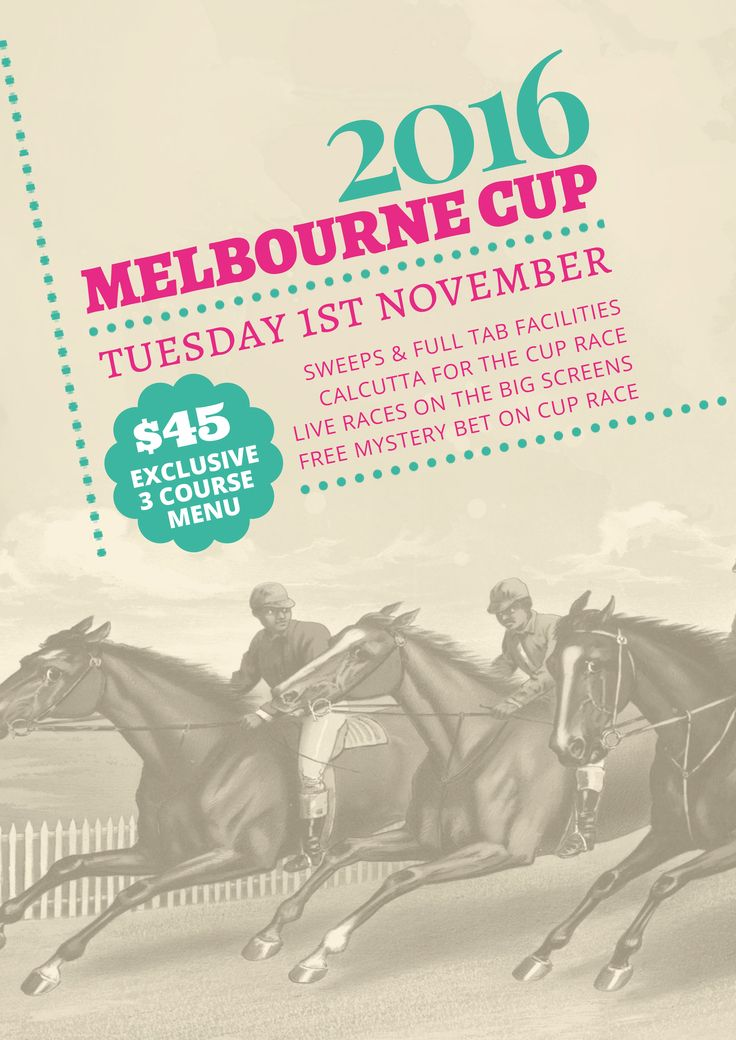 Use this Melbourne Cup / Spring Racing promotional template for your event this year! Use this existing template or customise it as much as you like. Visit easil.com to get started!