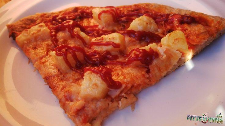 Gyors zabos pizza