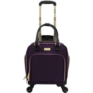 Shop for Kensie 16-inch Multi-Function Rolling Spinner Under-Seater Suitcase. Get free delivery at Overstock.com - Your Online Luggage Store! Get 5% in rewards with Club O! - 21036810
