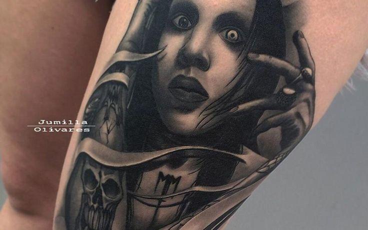 Jumilla Olivares tattoos