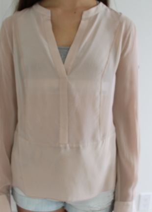Buy my item on #vinted http://www.vinted.com/womens-clothing/blouses/20557663-bcbg-maxazria-nude-pink-beige-shirt
