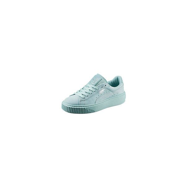 Basket Platform Reset Women's Trainers ❤ liked on Polyvore featuring shoes, sneakers, platform trainers, platform shoes, grunge shoes and platform sneakers