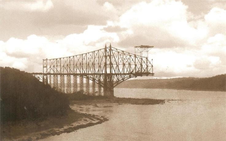 PK0768. Pont de Québec. Quebec, vers 1907.