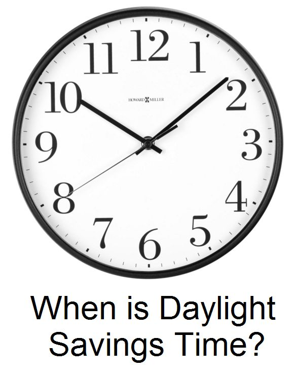 When is Daylight Savings in 2016 | Time for the Holidays