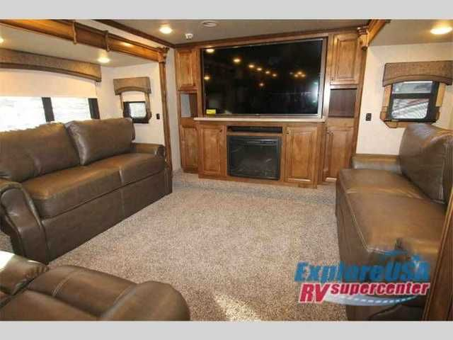 2016 New Heartland Landmark 365 Madison Fifth Wheel in Texas TX.Recreational Vehicle, rv, 2016 Heartland Landmark 365 Madison, This Landmark 365 Madison luxuryfifth wheel by Heartland RV offers a spacious retreat including an awesome front living space, FIVE slides to really open things up, and a rear private master bedroom, plus more!Step inside and head up the steps on your right to a spacious front living area including dual opposing slide out sofas. There is also a theater seat for two…
