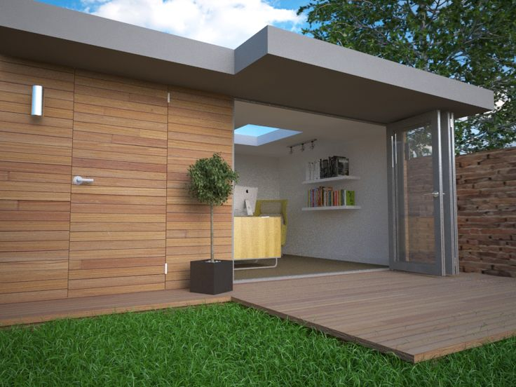 17 best images about garden office on pinterest gardens for Cedar garden office