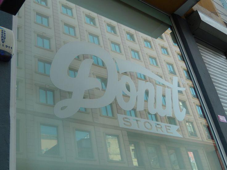 Donut graffiti store, Istanbul.