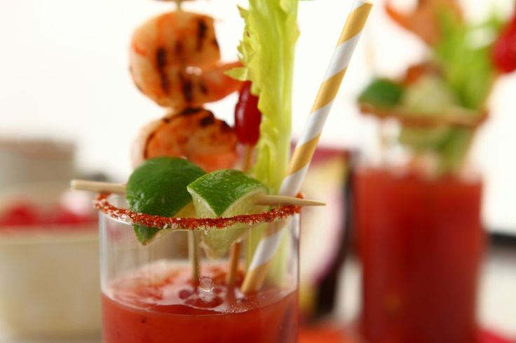 GAME DAY BLOODY MARY RECIPE