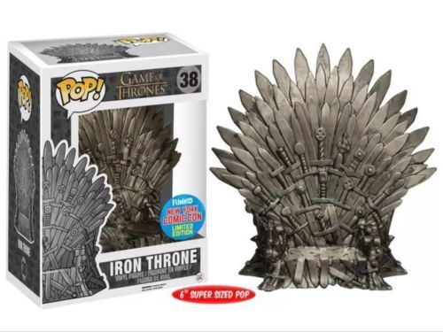 Game of ##thrones iron #throne nycc exclusive funko pop! vinyl figure rare #retire,  View more on the LINK: 	http://www.zeppy.io/product/gb/2/122277482305/