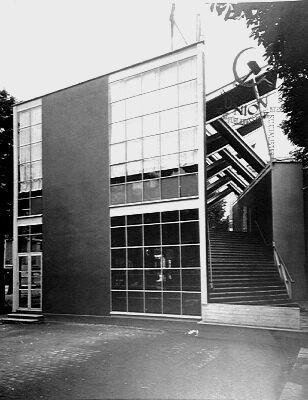 Konstantin Mielnikow, Soviet Pavilion, 1925