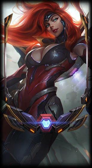 Nova skin ultimate Miss Fortune