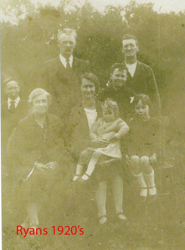 Ryans 1928c - Rose Ellen Ryan - David, Lillian And Connected Families