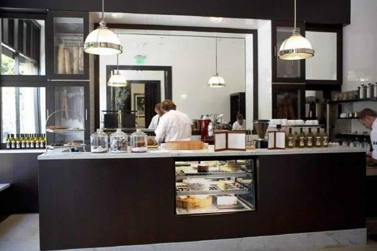 42 best images about cafe design on pinterest restaurant for Cafe kitchen ideas