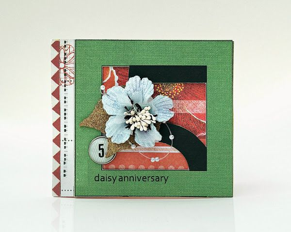 Another Sassafras Card paired with a Green Tara Flower